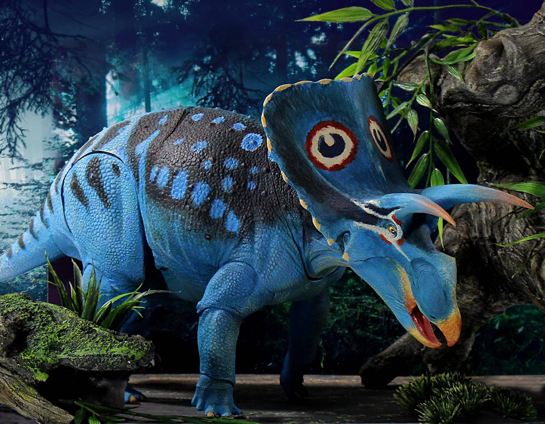 A Mesozoic Mosaic: Centrosaurus and Styracosaurus
